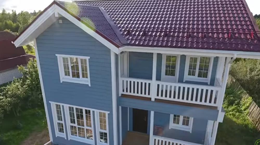 Металлический сайдинг под брус 40 фото имитация бревна что лучше - металлический или виниловый примеры обшитых сайдингом домов