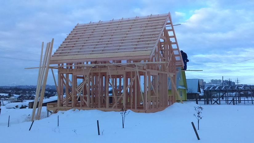 мероприятия в зимний период на строительной площадке
